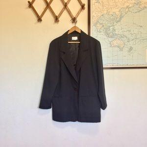 Vintage Lightweight Black Blazer